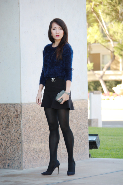 chanel fuzzy sweater style pin brooch img mylinh